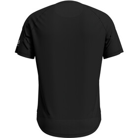 Odlo Concord T-Shirt S/S Crew Neck Men, black/mountain Print